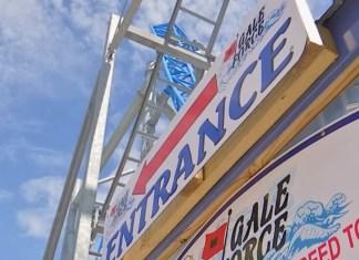 Crash Test Dummies Fly Off Roller Coaster, Damage Hotel