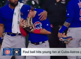 Child Smacked With Line-Drive Foul Ball At Cubs-Astros Game