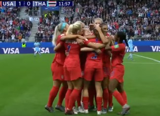 U.S. Women's Soccer Team Defeats Thailand, Advances In World Cup