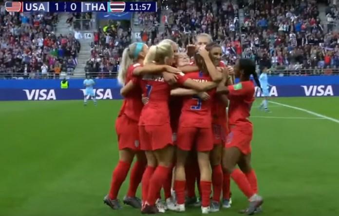 U.S. Women's Soccer Team Defeats Thailand, Advances In World Cup