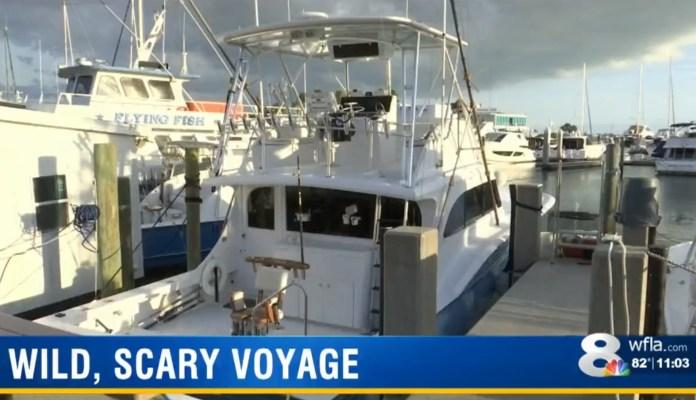 Drunk, High Boat Captain Holds Family Hostage
