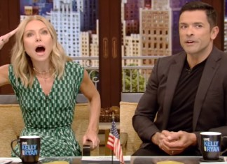 Kelly Ripa And Mark Consuelos' Daughter Walked In On Them...On Her Birthday