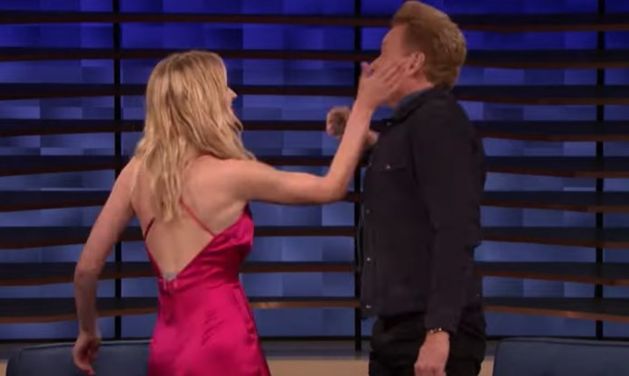 Sophie Turner Shows Conan How To Play 'Tequila Slaps'
