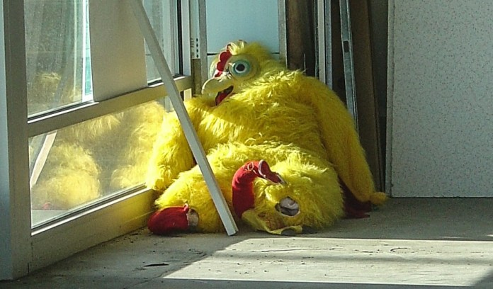 Nashville 'Chicken Suit Lady' Charged For Creating Walking Hazard