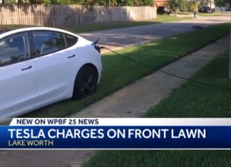 Tesla Driver Leaves Car Plugged Into Stranger's Home For 12 Hours