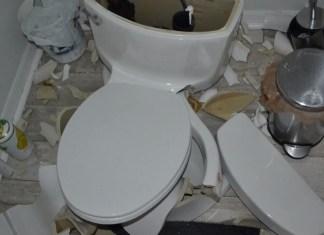 Lightning Strike Sends Florida Homeowners' Toilet Flying 'Like A Missile'
