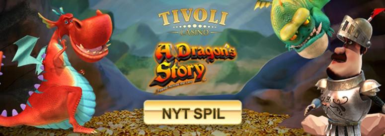 Få 40% overførselsbonus på ny spilleautomat på Tivoli Casino