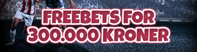 Freebets for 300.000 kr. i Summer Betting Giveaway