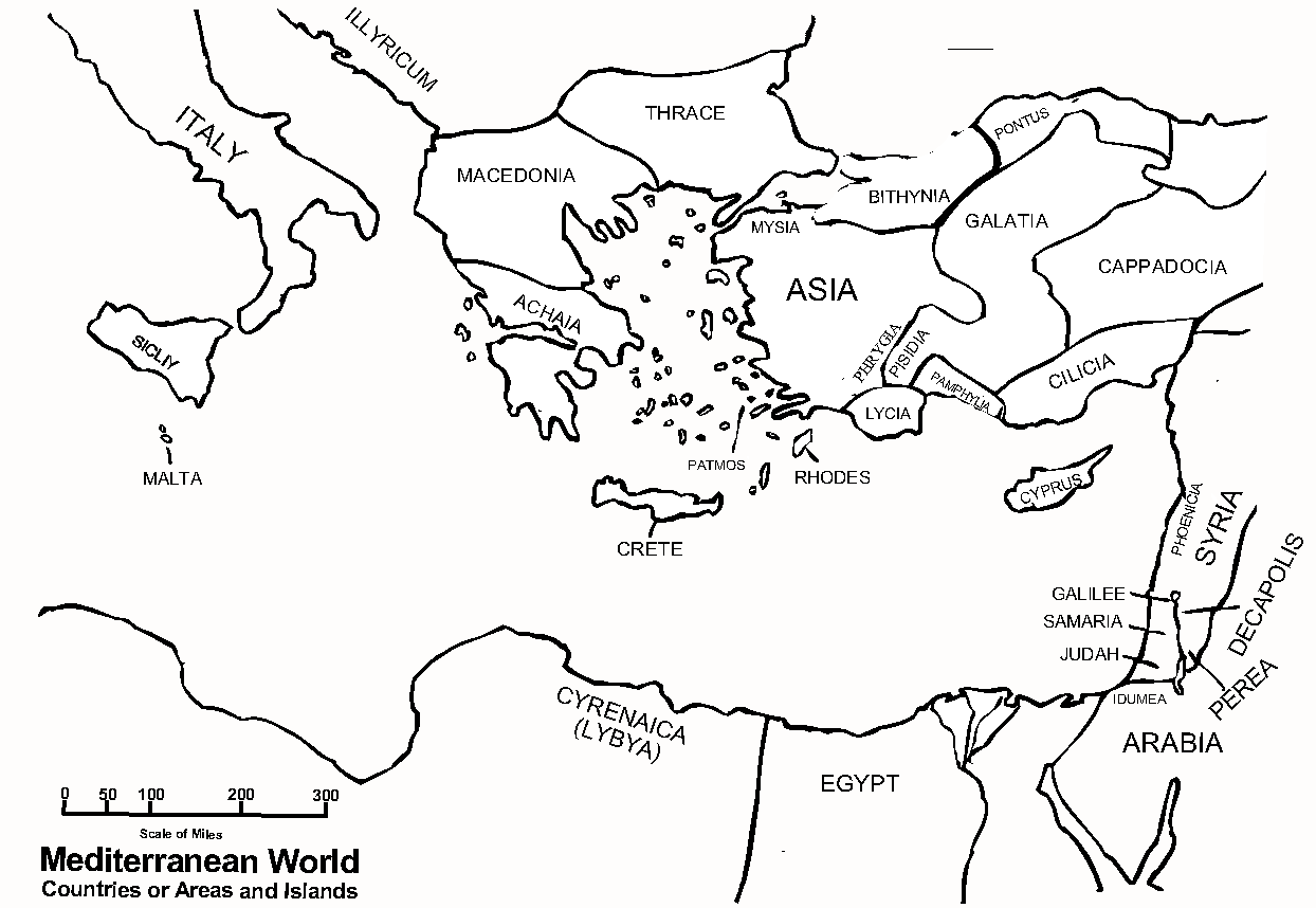 Ancient Near East Maps