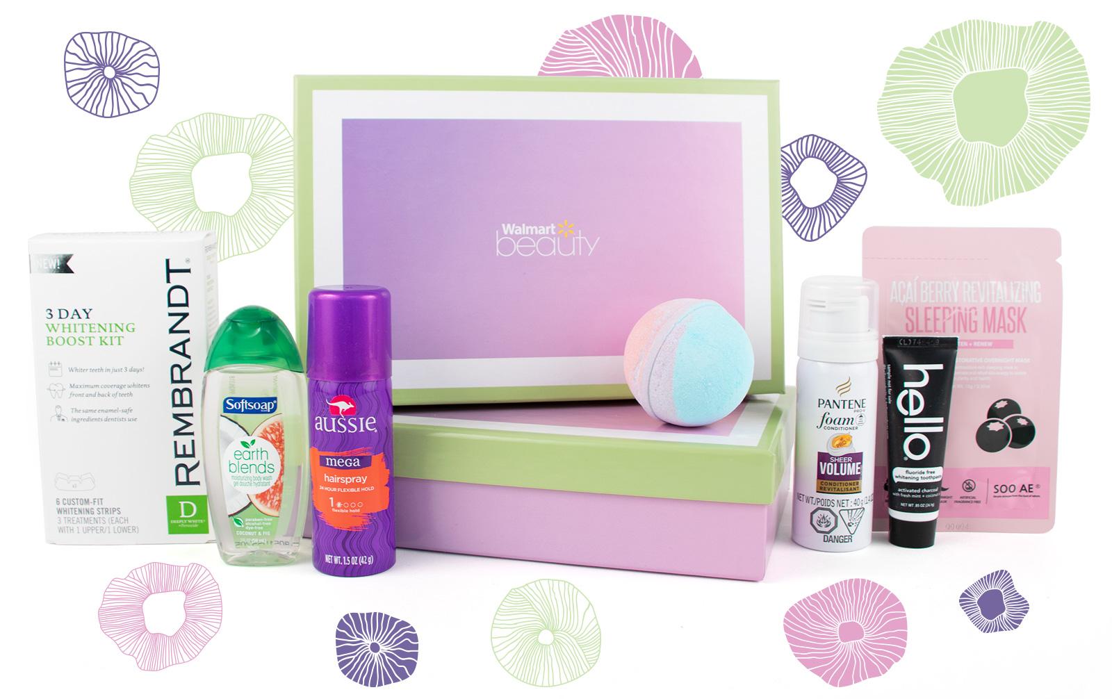 Free Sample Walmart Summer Beauty Box Freebie Depot