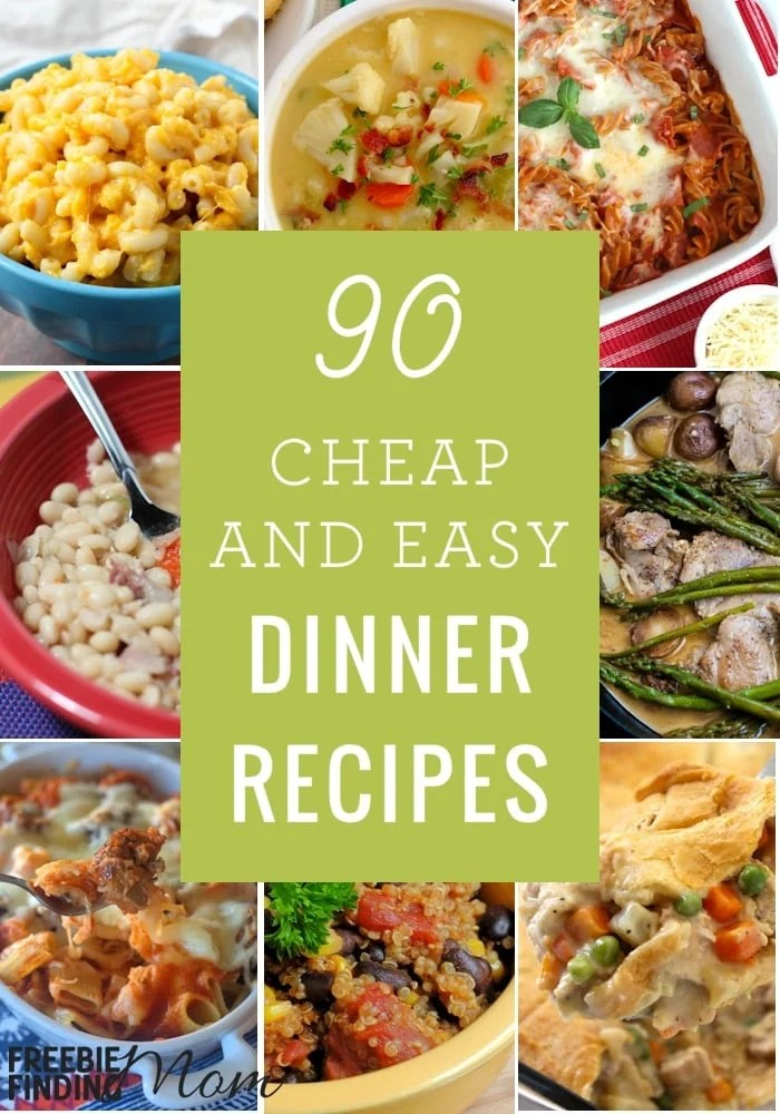Quick And Cheap Meals