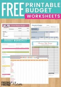 5 Reasons to Use Free Printable Budget Worksheet Templates