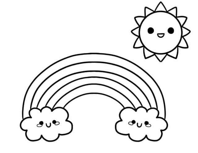 Printable Simple Coloring Pages for Adults and Kids - Freebie