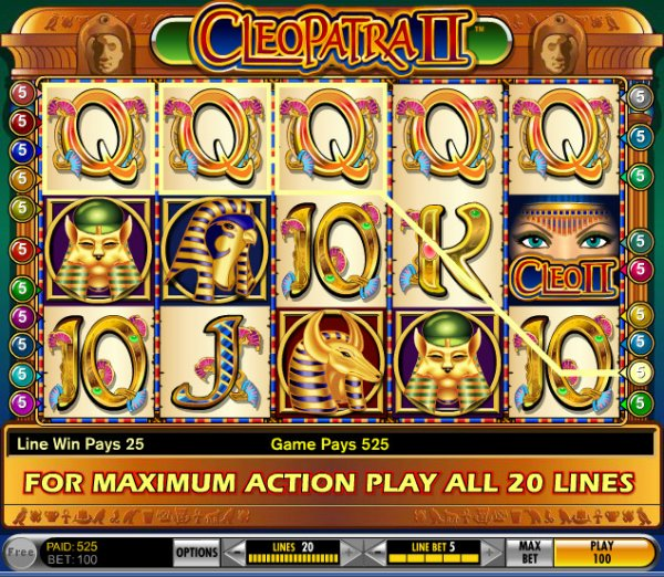 Slots Machines Free Cleopatra