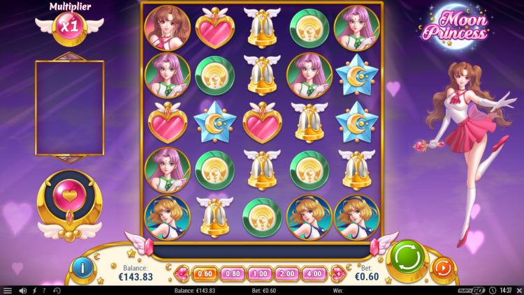 Moon princess slot release