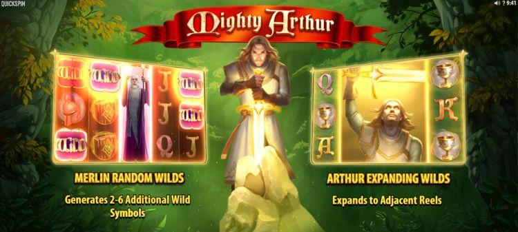 Mighty Arthur Slot quickspin