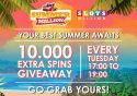 Slots million summer giveaway