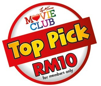 TGV MovieClub Top Pick Promotion
