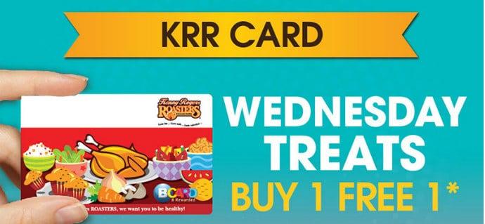 Kenny Rogers Buy 1 FREE 1