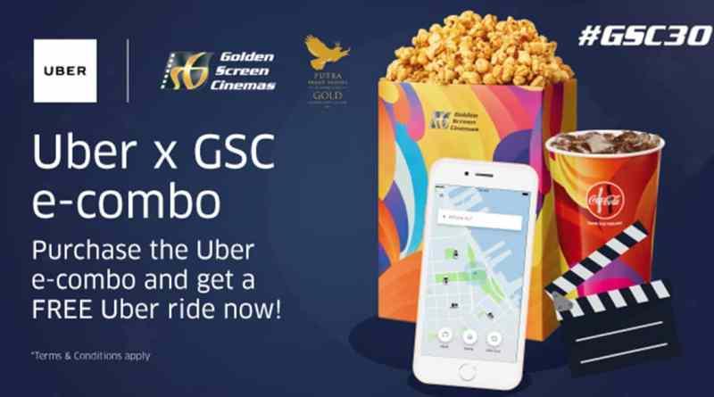Get RM5 FREE Uber ride