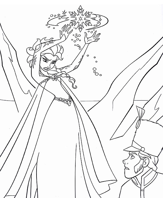12 (Free) Printable Disney FROZEN Coloring Pages: Anna
