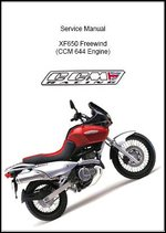 Suzuki XF650 Freewind Service Manual free ebook download