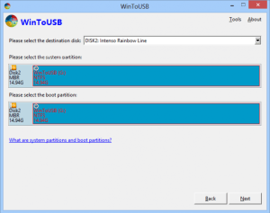 instalar windows en un usb