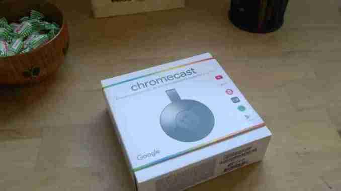 configurar chromecast 2