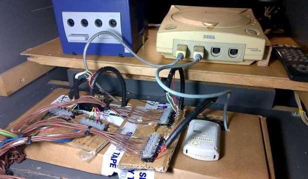 Panel de control arcade sega dreamcast