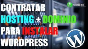 comprar hosting para instalar wordpress