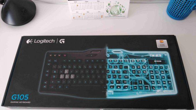 configurar Teclado gaming Logitech g105