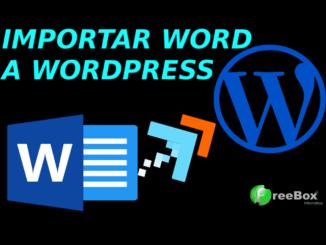 pasar word a wordpress