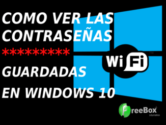 ver contraseñas wifi windows 10