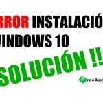 No se puede instalar Windows en este disco