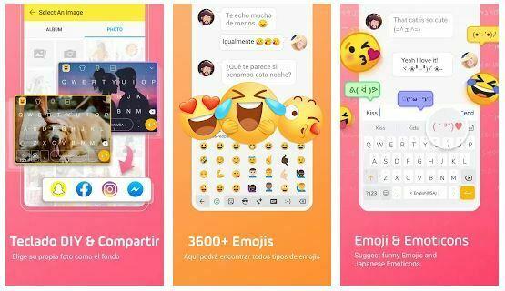 teclado android emojis gratis