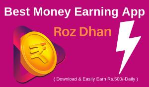Money Earning App In India