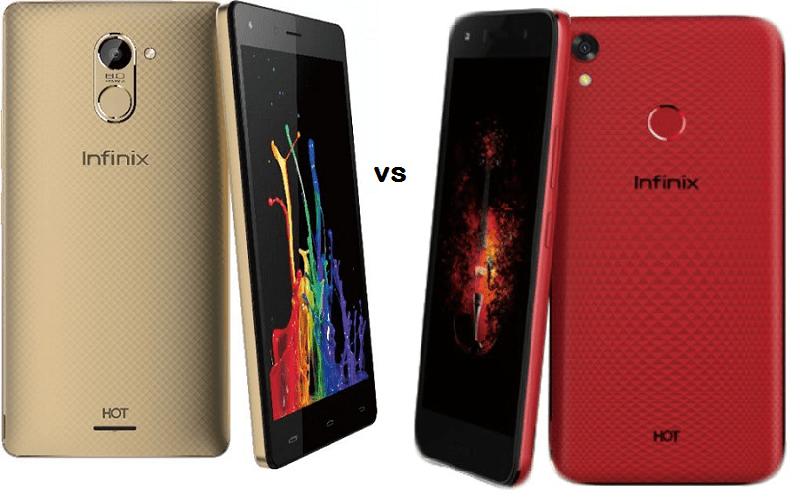 Compare: Infinix Hot 4 vs Infinix Hot 5 Android Smartphones