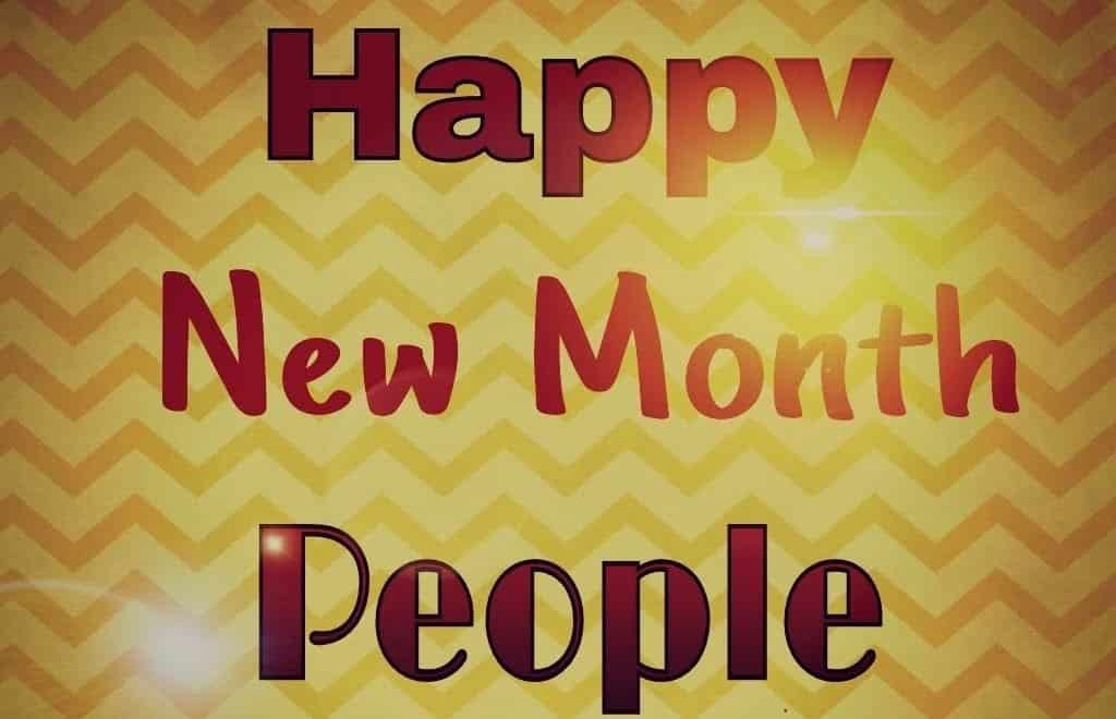 New month wishes to my love