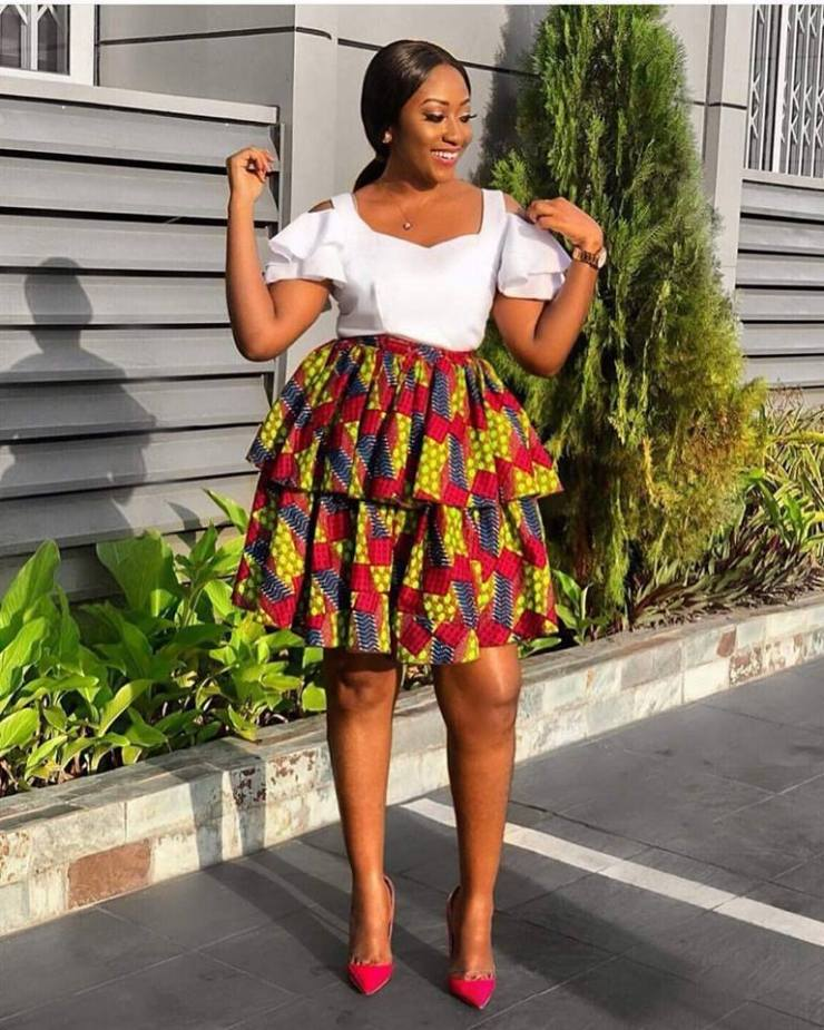 Image result for nigerian ladies ankara fashion babe with a banger! ladies you have to see these finest ankara styles, just for you! BABE WITH A BANGER! LADIES YOU HAVE TO SEE THESE FINEST ANKARA STYLES, JUST FOR YOU! design3