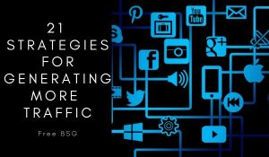 generate traffic on website