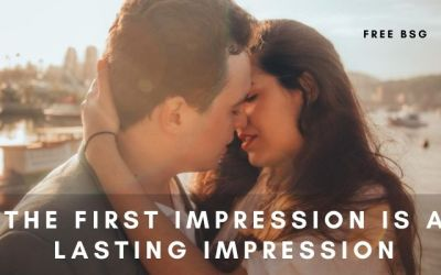 The First Impression Is a Lasting Impression