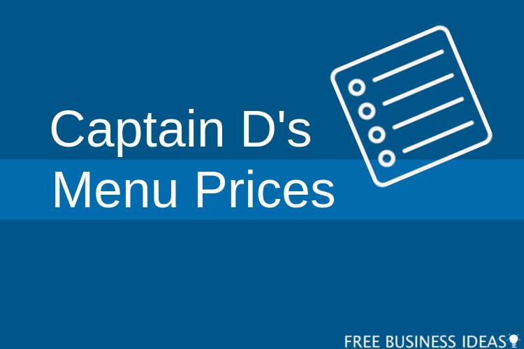 captain ds menu prices