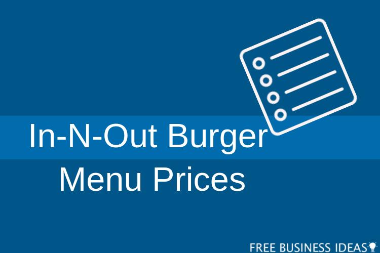 in n out menu prices