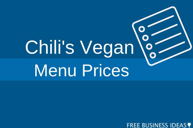 chilis vegan menu