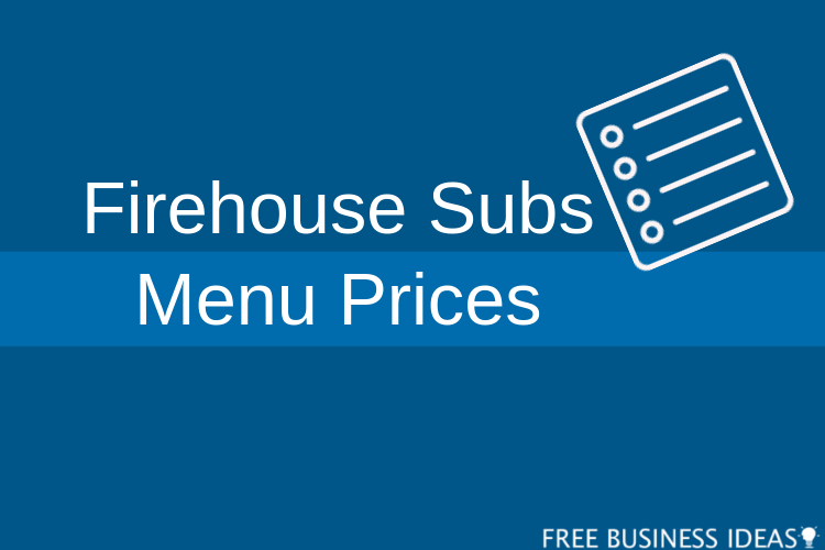 firehouse subs menu prices