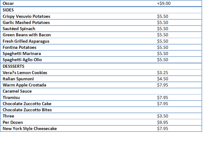 maggianos family style prices