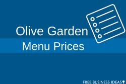 olive garden menu prices