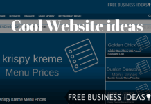 cool website ideas