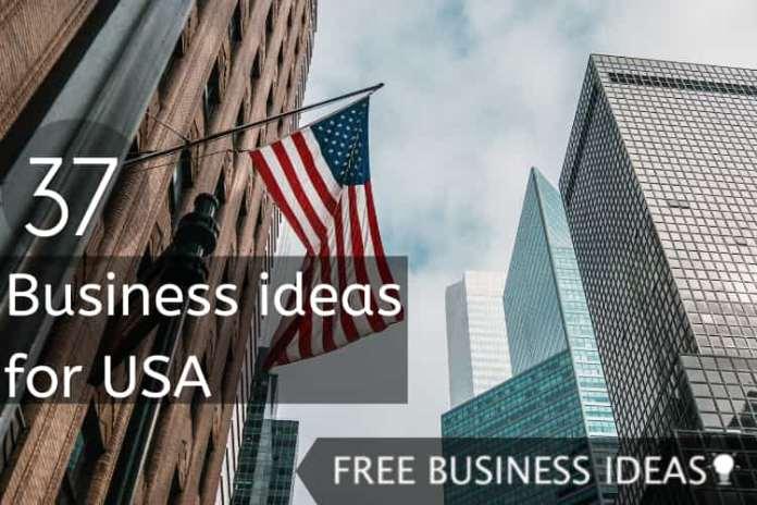 Business ideas for USA