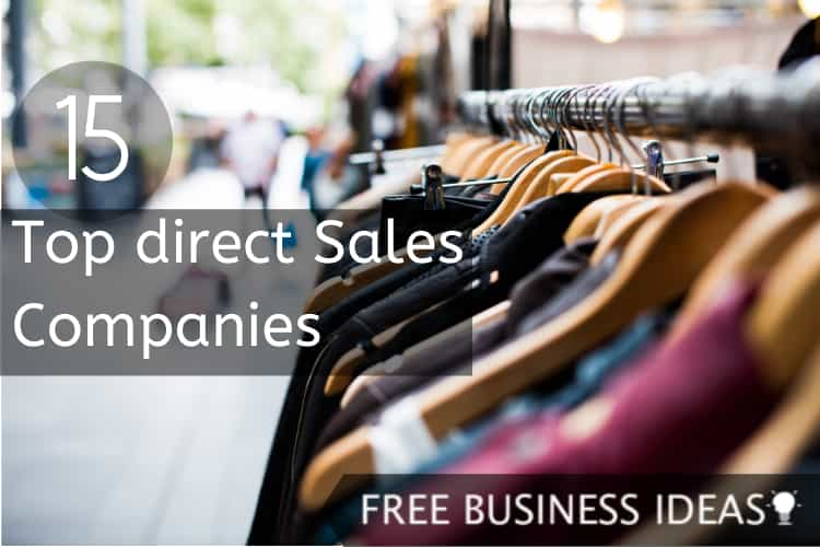 top direct sales companies